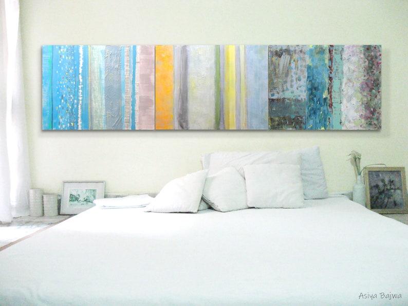Art CANVAS painting Wall Art Modern abstract art 32 x combo 1