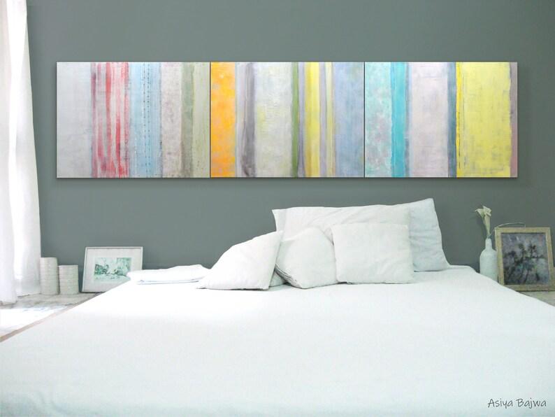 Art CANVAS painting Wall Art Modern abstract art 32 x combo 3