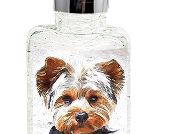 Yorkshire Terrier 'Lupis' Glass Soap Dispensers