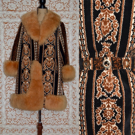 ON HOLD 1970s Penny Lane Coat