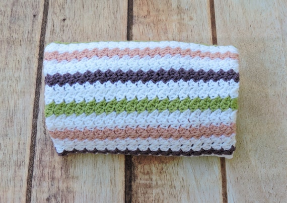 Mommy and Baby Crochet Nursing Blanket ~ Pink Variegated