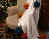 Giant Pom Pom Blanket