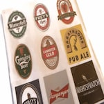 Game of Thrones, Game of Thrones Beer Labels, Nightswatch, Winterfell, Greyjoy, Lannister, Baratheon, Targaryen