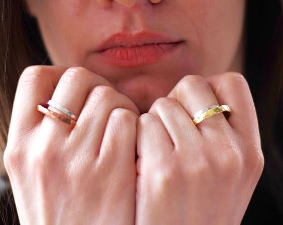 Bi Metal rings
