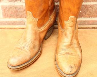 4e2b32942700 Vintage Womens Dingo Leather Western Cowboy Ranch Boots US 8 UK 6