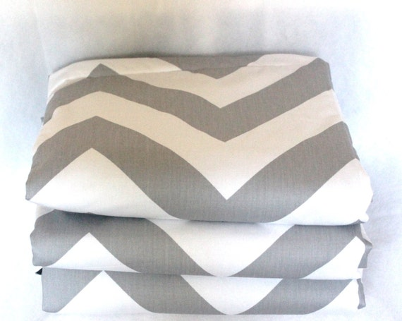 Waterproof Picnic Blanket-Large Grey Chevron