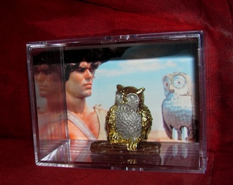 """Clash of the Titans (1981) """"Bubo the Owl's Cousin"""" Ready to take...."""