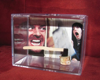 """Oh Danny...Daddy's Home! *The Shining* Collectible""""Here's Johnny!! Axe Display/Not Jacks But it'll Do!!"""
