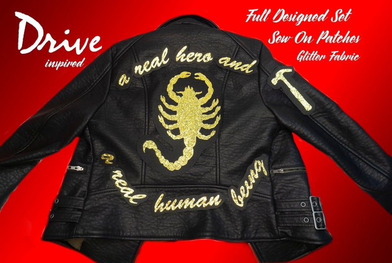 A REAL HUMAN BEING Scorpion Drive Movie Sew-On Patch / image 0