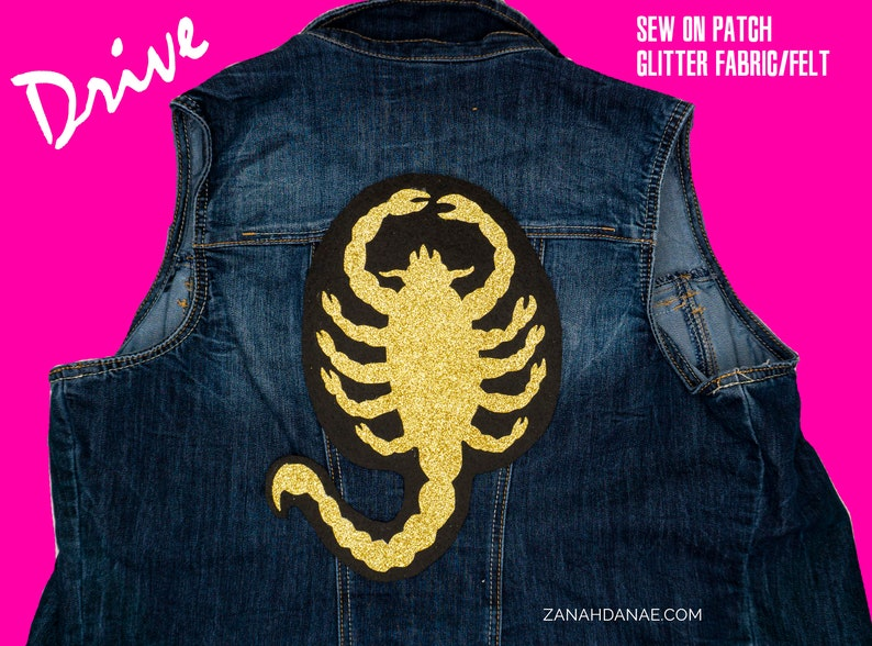 THE DRIVER Scorpion Drive movie Sew-On Patch / Appliqué image 0