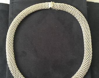 Vintage Tiffany &Co. Silver Necklace/Choker