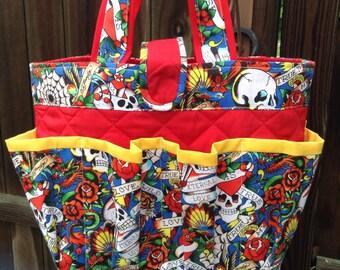 668e739b2852 Ed Hardy fabric Bingo Bag