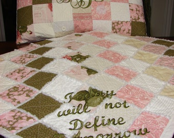 Personalized Throw Quilts