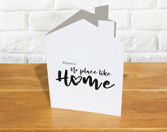 Housewarming card | New home card  |  congratulations new residence  | New house congratulations card  | first home card | leaving home card