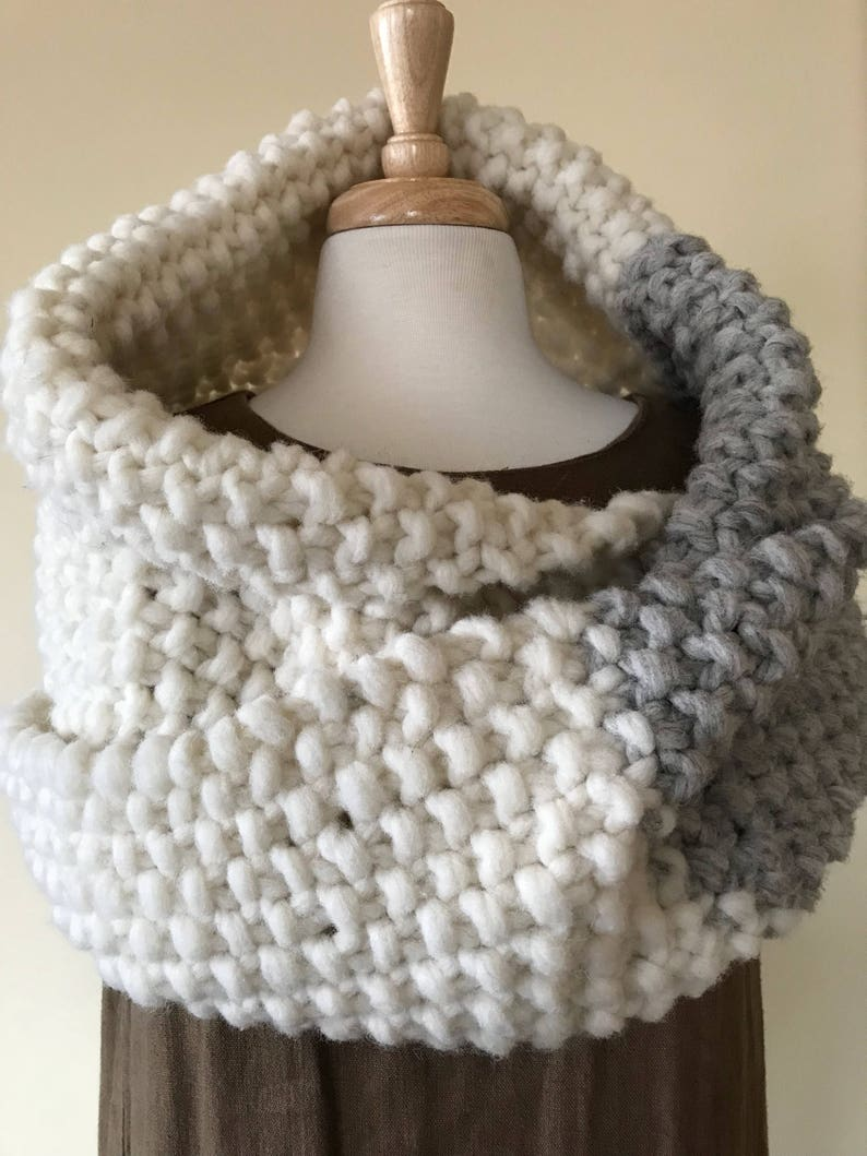 Infinity Scarf perfect for a winter wedding  Bridal Cape made image 0