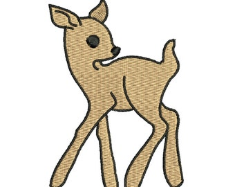 Sale 1.00 off deer embroidery design