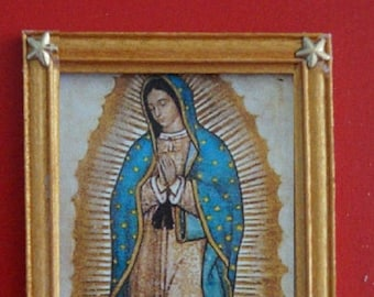 """Dollhouse Framed Print """"Lady of Guadalupe"""""""