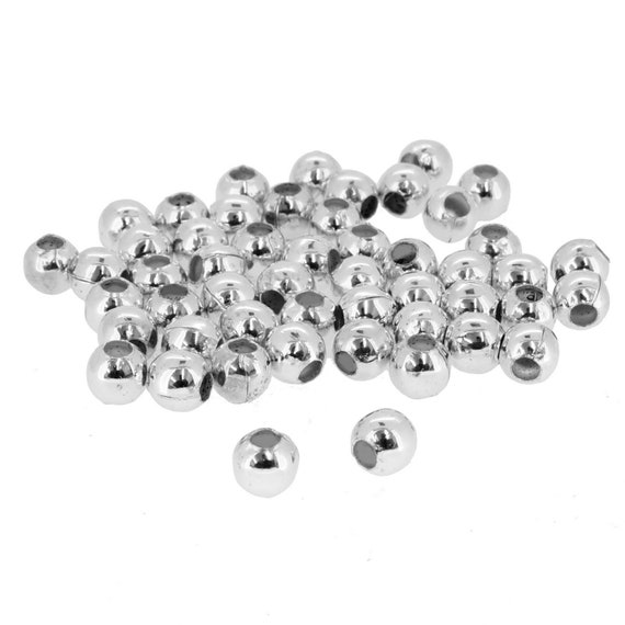 6 Styles 160PCS//Box Antiqued Silver Metal Spacer Beads DIY Jewelry Accessories