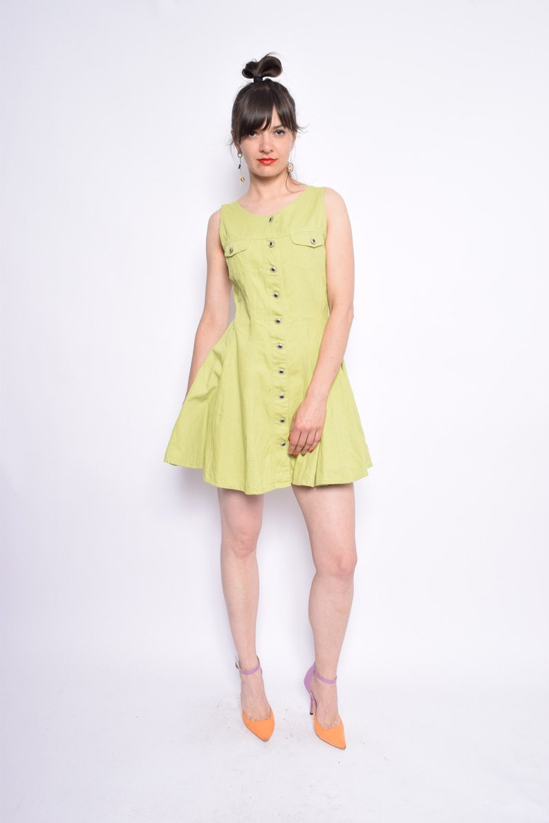 Cheap Lime Green Mini Dresses