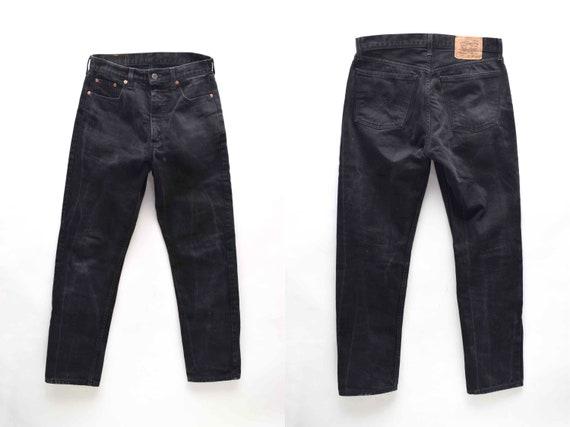 Vintage 1990's Levi's 615 Zipper Fly Black Jeans -