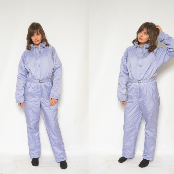 One Piece Skiing Suit / Vintage 90's  Light Purple