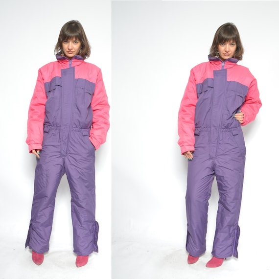 Ski Suit / One Piece Skiing Snowboarding Suit  / V