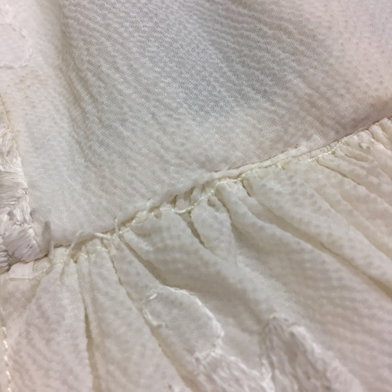 1940's/50's Wedding Gown - image 7