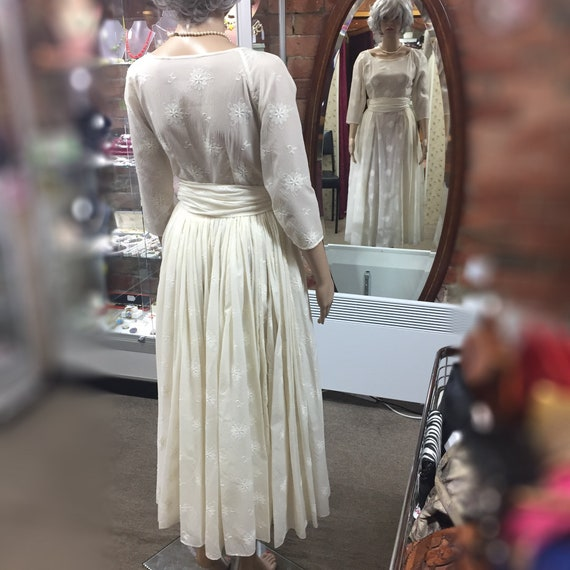 1940's/50's Wedding Gown