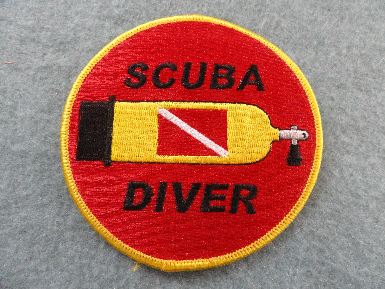 Scuba Diver-Patch