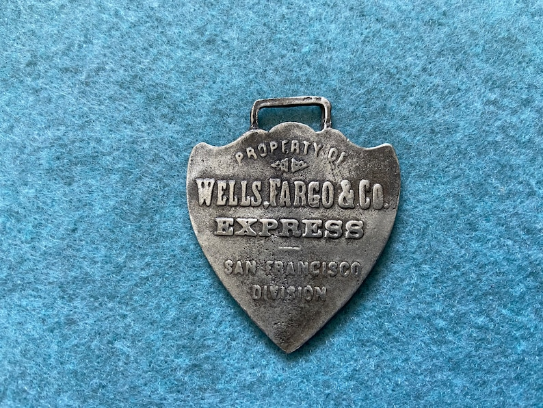 Wells Fargo and Co. Express San Francisco Division Vintage ...