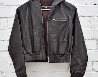Womens Leather Jacket Womens Brown Leather Biker Jacket Black Leather Biker Jacket Leather Jacket Studded Jacket Vintage Jacket Punk Jacket