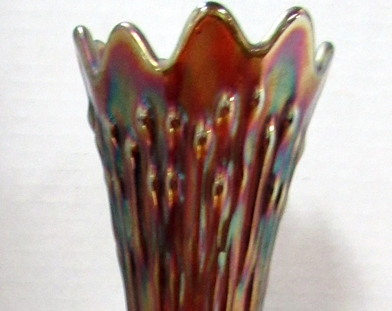 Fenton April Showers or Tree Trunk Vase