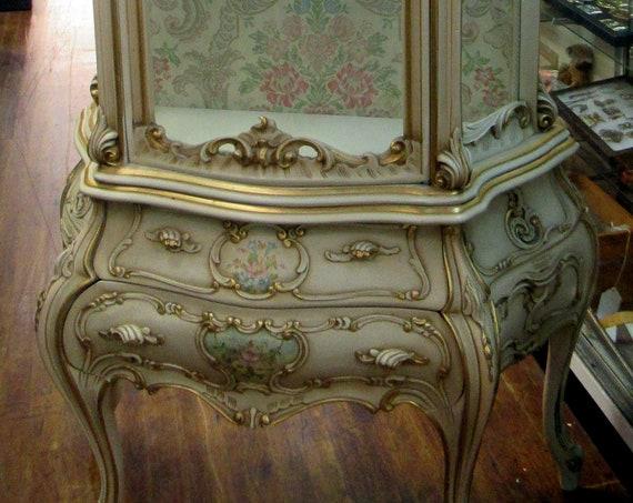 Italian Curio cabinet Rococo Baroque by Silik