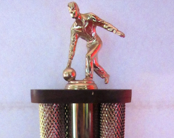 Vintage Bowling Trophy -big