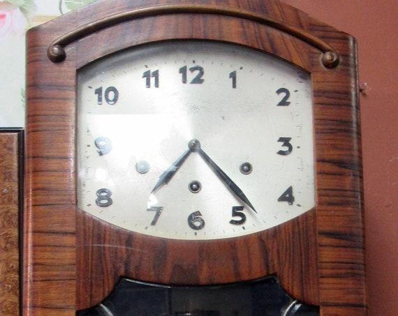 Jungens Art Deco wall clock