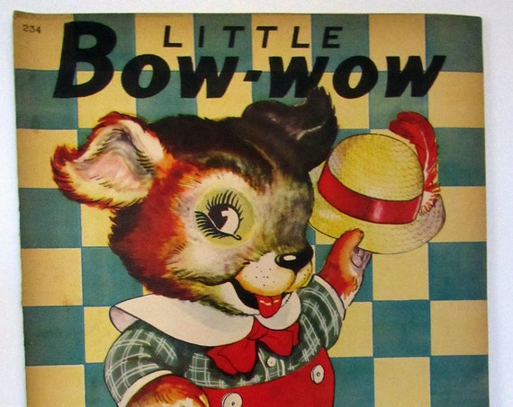 Little Bow-Wow big color book unused
