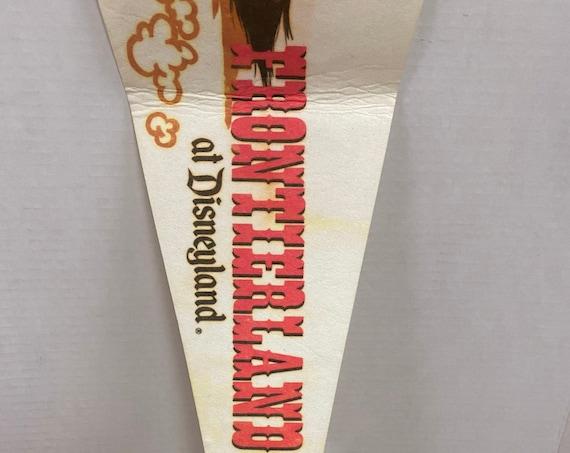 Disneyland Frontierland pennant