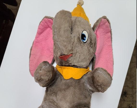 1950's Dumbo Disney plush toy.