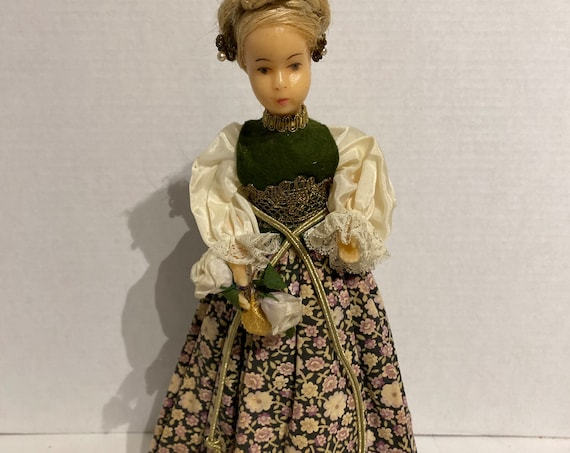 Doll with wax head and arms