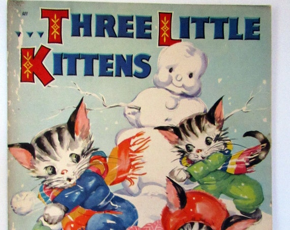 Three Little Kittens illustrated by Ruth Newton