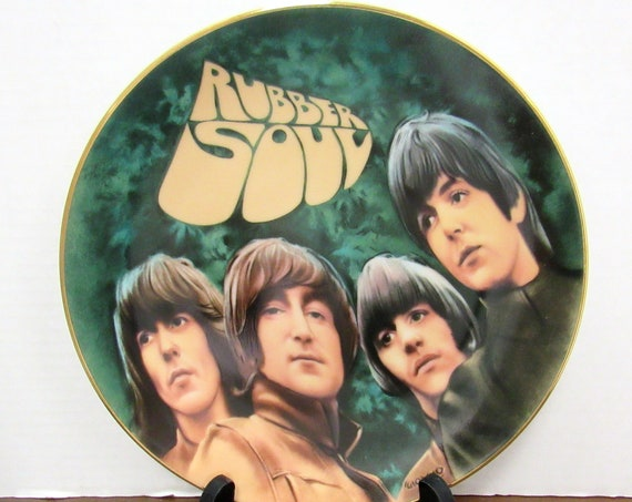 The Beatles Rubber Soul Collector Plate