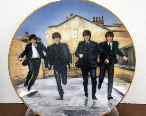 The Beatles A Hard Days Night Collector plate