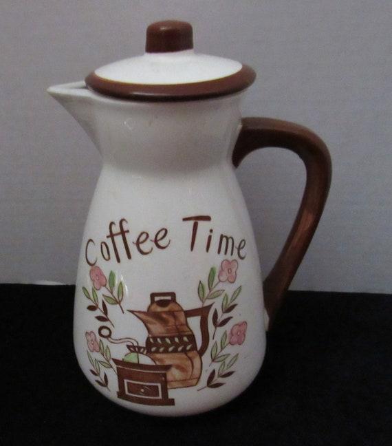 Wales ceramic coffee server