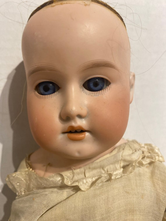 Armand Marseille Rosebud bisque doll