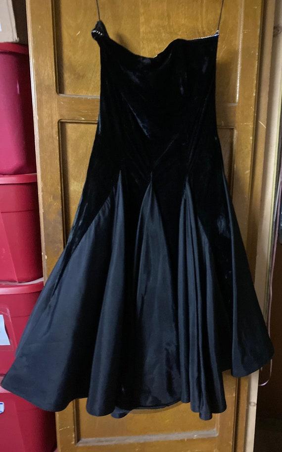 Black party dress - image 1