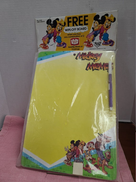 Micky Mouse wipe-off board MIP