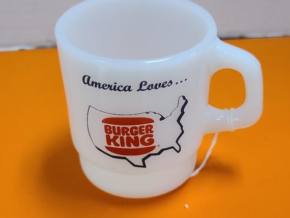 Burger king fire king mug