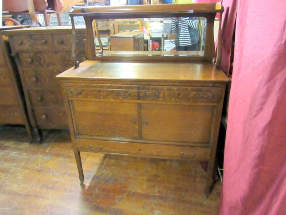 Antique small sideboard