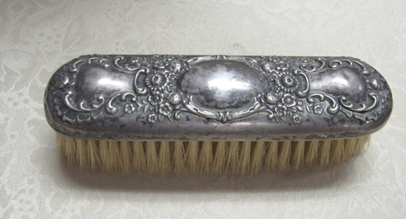 Antique Silver Brush