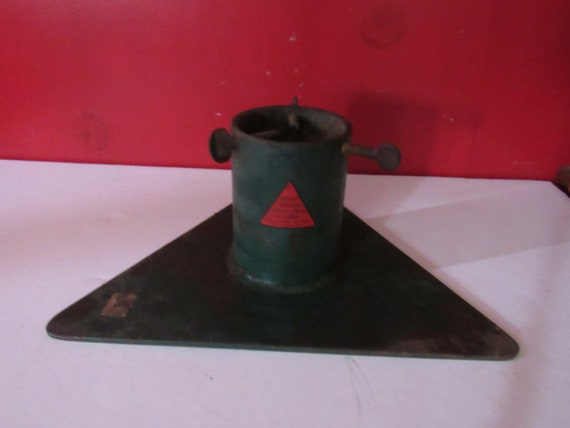Antique Christmas Tree Stand Cast Iron